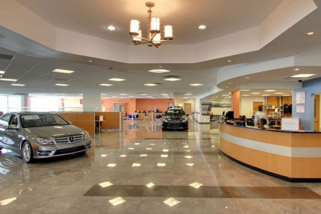Helms bros mercedes benz service flushing for Mercedes benz schedule c service